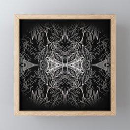 Nigon Wyrta: Nine Herbs Framed Mini Art Print