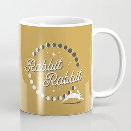Rabbit Rabbit Moon Phases Coffee Mug
