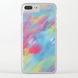 Wrinkle Pixel Clear iPhone Case