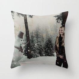 Christmas / Emma Swan Throw Pillow