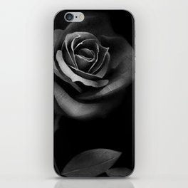 Black Rose iPhone Skin