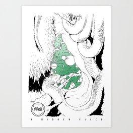 A Hidden Place Art Print