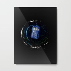 Space and Time and the Universe Metal Print