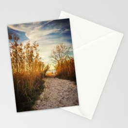 Follow the Beach Path Stationery Cards