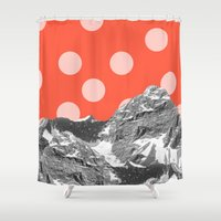 perfume Shower Curtains featuring Perfume by Tyler Spangler