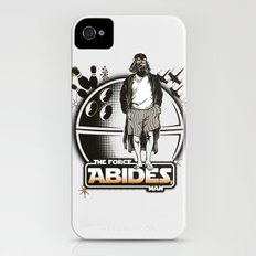 The Force Abides iPhone (4, 4s) Slim Case