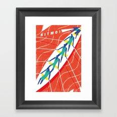 Ritmo Framed Art Print