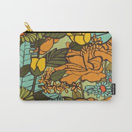 retro garden Carry-All Pouch