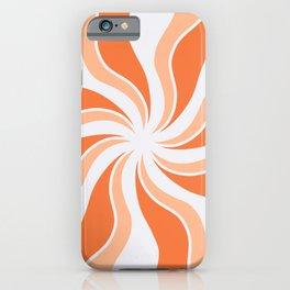 Retro summer on the beach iPhone Case