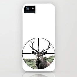 Deer hunter iPhone Case