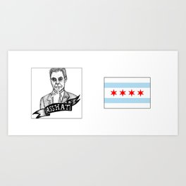 Greetings from Chicago! Art Print