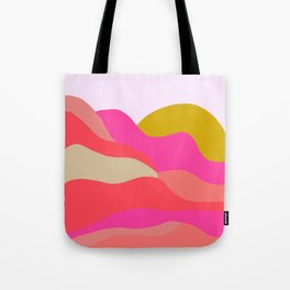 Adelaida, mountain sunset Tote Bag
