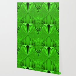 Vibrant Tropical Foliage Green #society6 Wallpaper