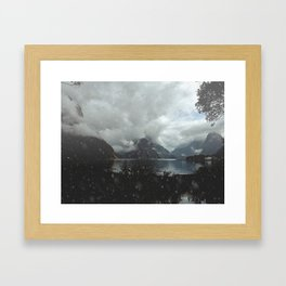 This is Milford Sound Framed Art Print