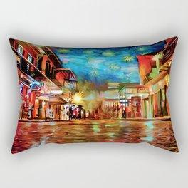 French Quarter Under the Stars Rectangular Pillow