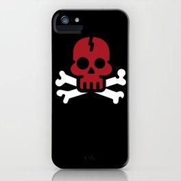 BLOOD SKULL iPhone Case
