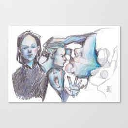 Drifted Canvas Print