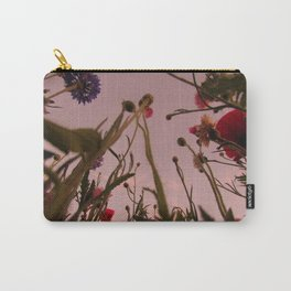 Wildflower Sunsets #4 Carry-All Pouch