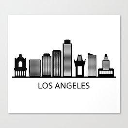 Los Angeles skyline Canvas Print