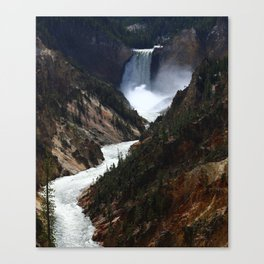 Grand Canyon of theYellowstone Canvas Print