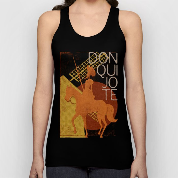 Books Collection: Don Quixote Unisex Tank Top