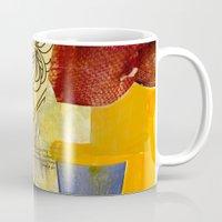 botanical Mugs featuring Botanical  by Alexandra Sheldon