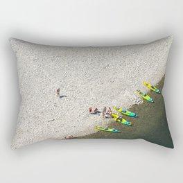 Five Canoes Rectangular Pillow
