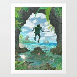 Pan - Classic Edition Art Print