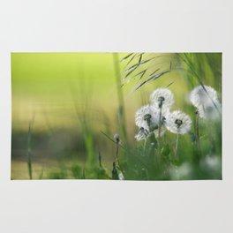 Dandelion Pattern Rug