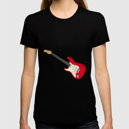 Left Handed Guitar T-shirt