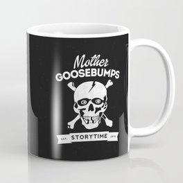Mother Goosebumps: Storytime Skull Coffee Mug