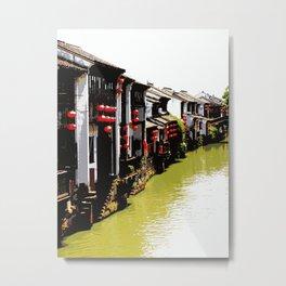Suzhou, Old Town Metal Print