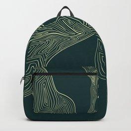 Geometric lines Backpack