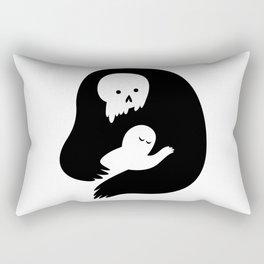 Death's Embrace Rectangular Pillow