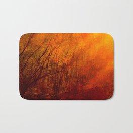 The burning world Bath Mat