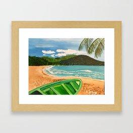 Las Cuevas Mornings Framed Art Print