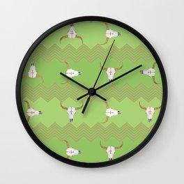Longhorn Wall Clock