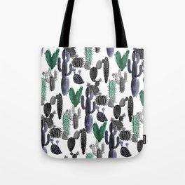 Cactus Prickles Tote Bag