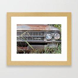 Car Jungle Framed Art Print