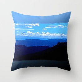 Hood and Adams Throw Pillow
