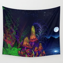 Happy Birthday Terence Mckenna Wall Tapestry