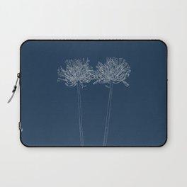 Agapanthus Blueprint Laptop Sleeve