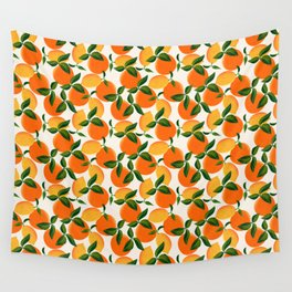 Oranges and Lemons Wall Tapestry