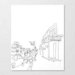 Downtown Annapolis Canvas Print