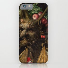 Giuseppe Arcimboldo - Four Seasons in One Head iPhone Case