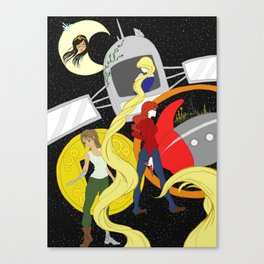 The Lunar Chronicles Canvas Print