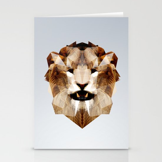 Lion - Augmented Stationery Cards
