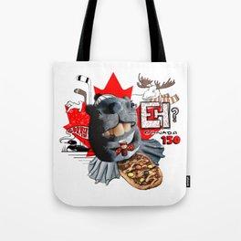 Canada 150 Beaver Tote Bag