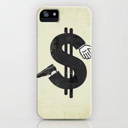 Costs an Arm & a Leg! iPhone Case