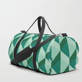 boxes of sea green Duffle Bag